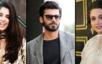 Fawad Khan with Zara Noor Abbas & Sanam Saeed
