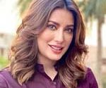 Mehwish Hayat learning about Benazir Bhutto these days