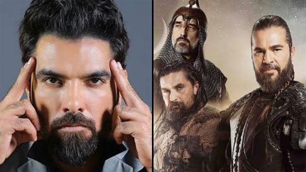 Yasir Hussain comments about Ertugrul cast