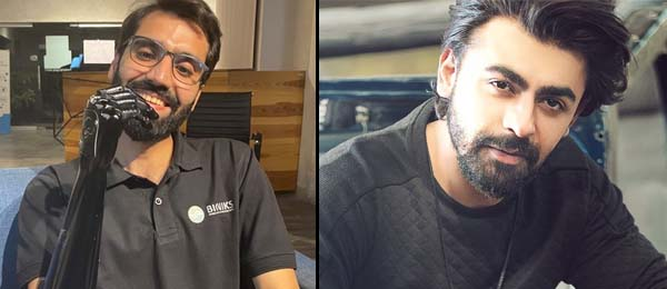 Farhan Saeed invites Bionic arm guitarist Muaaz Zahid to perform with him in Lahore