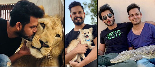 Azlan Shah with his Exotic animals