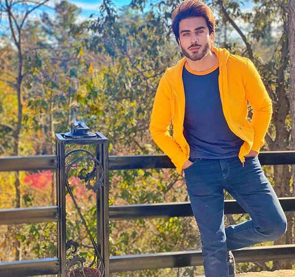 Imran Abbas in his winter outfit