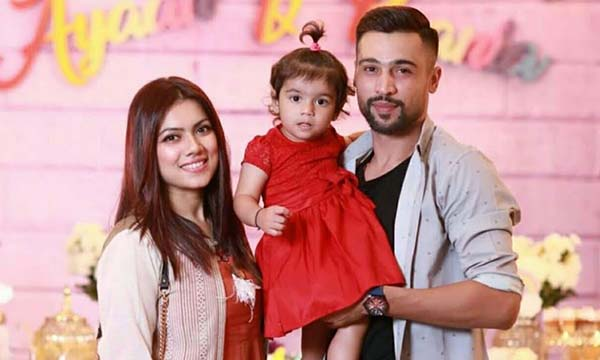 Muhammad Amir with his family