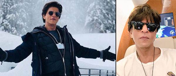 Shahrukh Khan interacts with fans